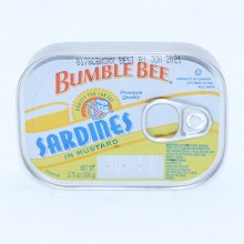 Bumble Bee Sardines in Mustard, 3.75 oz 3.75 oz