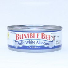 Bumble Bee Solid White Albacore Tuna in Water Dolphin Safe Gluten Free