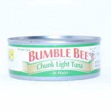 Bumble Bee. Chunk Light Tuna in Water Gluten Free