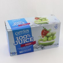 Capri Sun Berry Juice
