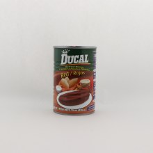Ducal Red Refried  Beans No Preservatives 15 oz