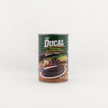 Ducal Black Refried Beans No Preservatives 15 oz