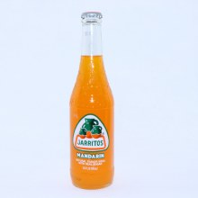 Jarritos Mandarin Natural Flavor Soda with Real Sugar 12.5 FL. oz