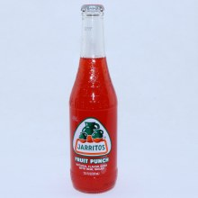 Jarritos Fuirt Punch Natural Flavor Soda with Real Sugar 12.5 FL. oz