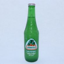 Jarritos Grapefruit Natural Flavor Soda with Real Sugar 12.5 FL. oz