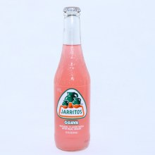 Jarritos Guava Natural Flavor Soda with Real Sugar 12.5 oz