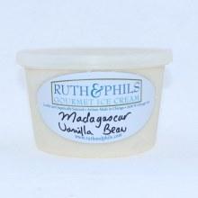 Ruth & Phils Gourmet Ice Cream. Madagascar Vanilla Bean.