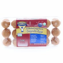 Dutch Farms Organic Large Brown Eggs 18 pc