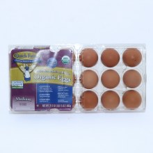Dutch Farms  Organic Medium Eggs  18 Count.