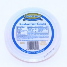 Dutch Farms, Rainbow Fruit Gelatin 24 oz