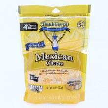 Dutch Farms Mexican Cheese, 4 Cheese Blend, 8 oz 8 oz