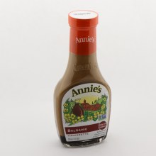 Annies Balsamic Vinaigrette No Artificial Flavors Colors or Preservatives Non GMO Expeller Pressed Oil
