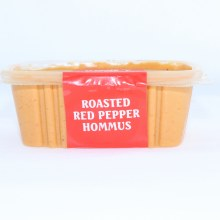 Oasis Roasted Red Pepper Hummus Gluten Free and Non GMO 16 oz
