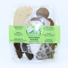 Oasis Vegetarian Platter  16 oz
