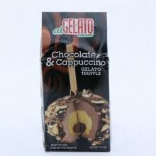Chocolate  and  Cappuccino Gelato Truffle