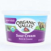 Organic Valley, Sour Cream, Rich & Creamy 16 oz