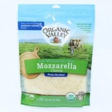 Organic Valley Mozzarella Cheese Non GMO 6 oz