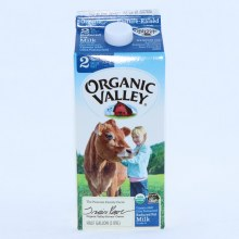 Organic Valley 2Per Cent Milk