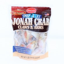 Wholey Jonah Crab