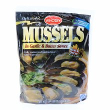 Wholey Mussels in Garlic & Butter Sauce, 2LBS 2 lb