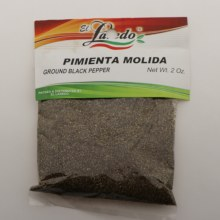 El Laredo Ground Black Pepper / Pimienta Molida 2 oz