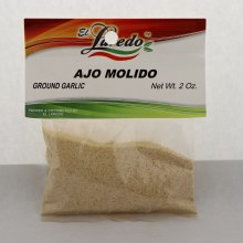 El Laredo Ground Garlic / Ajo Molido 2 oz