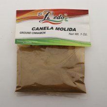 El Laredo Ground Cinnamon / Canela Molida 1 oz