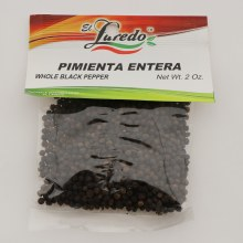 El Laredo Whole Black Pepper / Pimienta Entera 2 oz