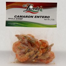 El Laredo Whole Shrimp / Camaron Entero 2 oz