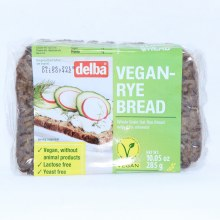 Delba Vegan Rye Bread, Lactose Free and Yeast Free 10.05 oz