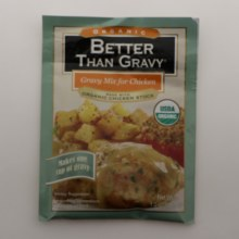 Better Than Gravy Gravy Mix For Chicken Made with Organic Chicken Stock USDA Organic 1 oz
