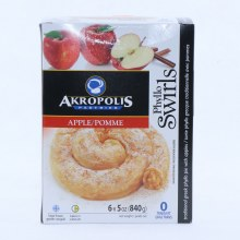 Akropolis Phyllo Swirls  Apple 30 oz