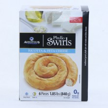 Akropolis Phyllo Swirls  Ricotta  and  Feta Cheese 30 oz