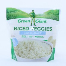 Green Giant Riced Vegetables, Cauliflower, Gluten Free, No Sauce or Seasoning and 4g of Carbs 12 oz