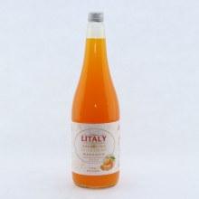Litaly Mandarine Flavored Sparkling Juice 34 oz