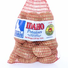 10 Pound Bag of Idaho Potatoes