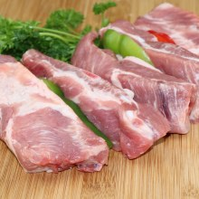 Pork Spare Ribs, Great for Grilling or Try Oven-Barbecued  1 lb