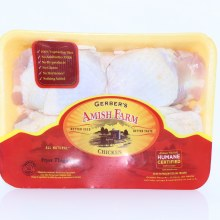Gerber Amish Chicken Thighs Great for Frying or Baking in the Oven 1 lb