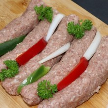 Homemade Beef Kebabche