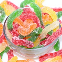 Sour Gummy Worms  16 oz
