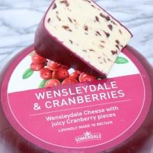 Wensleydale Cheese with Juicy Cranberries  16 oz