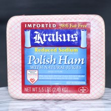 Krakus Low Sodium Polish Ham