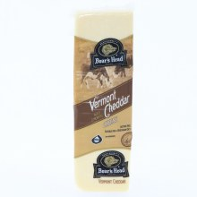 Boars Head White Vermont Cheddar Cheese  1 lb
