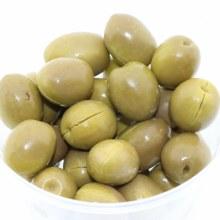 Krinos Green Olives  16 oz