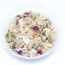 Quinoa with Kale, Almonds & Feta Salad, 8oz.  16 oz
