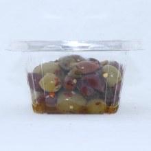 Castella Hot Pitted Salad Olives 16 oz