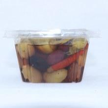 Marinated Hot Olives 16 oz