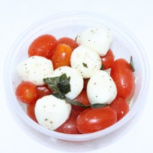 Fresh Mozzarella Tomato Salad 8oz.  8 oz