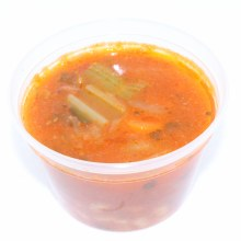 Home Made Mediterranean Vegan Bean Soup 16oz.  16 oz