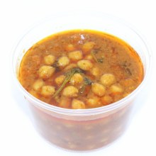 Home Made Masala Chick Peas Chana Masala 16oz.